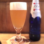 Beer Bar HB - 泡まで美味しい♡ (( ˘ω ˘ *)) レモンの香り クローネンブルグブラン