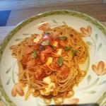 モルトヴォーノ - ③トマトとモッツァレラのバジル風味 ランチセット1101円