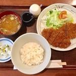 げんぱち - ビーフカツ 1,200円