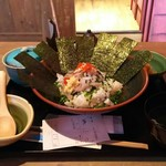 五島人 - アジのたたき丼