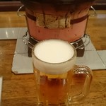 亀戸ホルモン - 1人ビールw