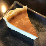 スダ コーヒー - 焼きチーズケーキ