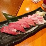寿しやの台所 - 本マグロ3種