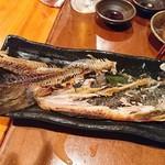 寿しやの台所 - ホッケ(ほぼ食べ終わってるw)