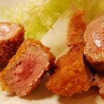 とんかつ野崎 - 料理写真:ひれとんかつ