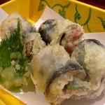秋刀魚の梅紫蘇 天ぷら