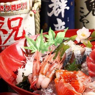 【北海道を喰らう!!宴会コースは2500円~】