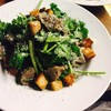 砂肝とパクチーのサラダ仕立て ~生姜とオレンジのドレッシング~