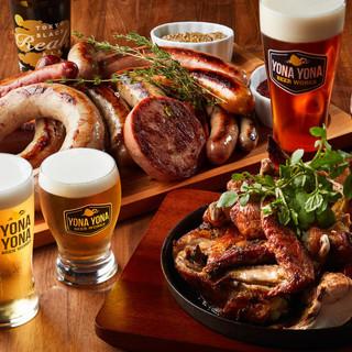 料理の拘り~ビールに合わせて、素材は全て国産~