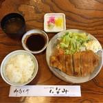 とんかつ いなみ - とんかつ定食   ¥1100