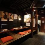 炭火焼肉 ホルモン酒場 金子増太郎 - 女子会や少人数のグループにも対応できる掘りごたつ半個室(2名~30名様用)もございます!!