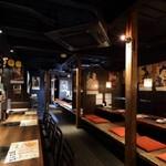 炭火焼肉 ホルモン酒場 金子増太郎 - カウンター席も完備!お気楽にご来店ください!