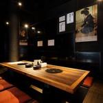炭火焼肉 ホルモン酒場 金子増太郎 - 半個室完備!6~8名のご案内出来ます!お気楽にスタッフまで、お申し付けください!