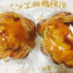 72409934 - クッキー大納言小豆パン