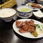牛タン焼専門店 司 - 牛タン焼き定食1.5人前(2640円)