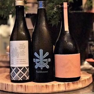 日本酒とワインにこだわり。和食に合うものを厳選しました。