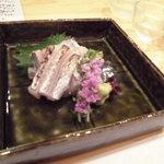 御料理 はばら - 太刀魚炙り刺身
