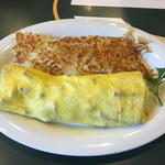Boots & Kimo's Homestyle Kitchen - 「Spam & Cheese Omelette」$12.95