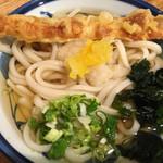 ゆず屋製麺所 - 柚子おろしうどんに竹輪天
