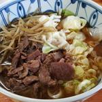 吉田屋 - 料理写真:肉きんぴらごぼううどん