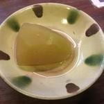 ぱやお - 冬瓜の煮物(つきだし)