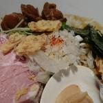 麺と心 7 - 魚貝味噌マゼソバ♪