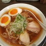 麺匠ぼんてん - 醤油煮卵ラーメン