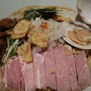 麺と心 7 - 料理写真:魚貝味噌マゼソバ♪