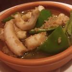 Koume - マンボウの腸と万願寺唐辛子のソテー