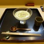 Chihiro - 先付 茶豆のスープ