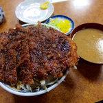 とんかつ吉乃家 - ソースチキン丼(800円)