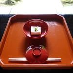月心寺 - 料理写真:胡麻豆腐