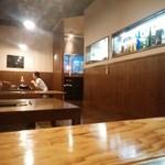にく家 牛円 - 小上がりテーブル。