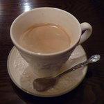 カフェ 仁音 - 食後のコーヒー+100円