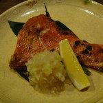 わか芽 - 金目鯛の塩焼き