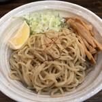 西中島 光龍益 - つけ麺(830円)の麺