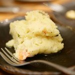 ホルモン焼 婁熊東京 - 自家製ハムのポテトサラダ