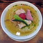 ra-menhachinoashiha - 料理写真:冷製塩らーめん(鯛煮干)