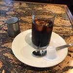 洋食 あきら - アイスコーヒー