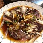 加乃季節料理 - 料理写真:戻りカツオの土佐造り
