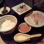 良庵 - 鯛茶漬け