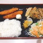 レストラン コーエイ - この日の日替わり魚フライ650円(^^)