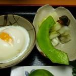 玄米ハウス ひろ作 - 香の物とマクア瓜