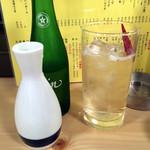大衆酒場BEETLE 浦和店 - 中(大)320円とハイ辛(金魚)170円