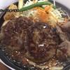 鉄板牧場 - 料理写真:牧場ハンバーグとカットステーキセット