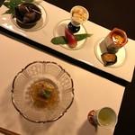 鄙の宿 金宇館 - 料理写真:前菜