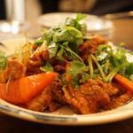 ヨヨナム - 牛肉とお野菜のダラット風トマト炒め(1300円)