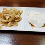 琉球酒場りっかりっか - ミミガー・ジーマミー豆腐