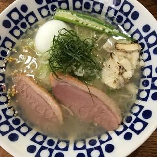真鯛らぁー麺 日より - 料理写真:藻塩750円