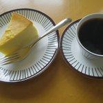 7244054 - チョコ深とチーズケーキ